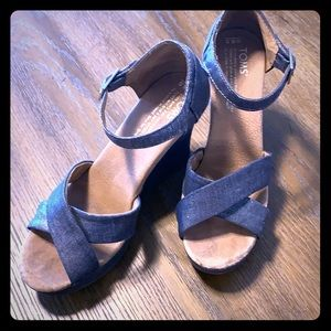 Silver Tom's Wedges
